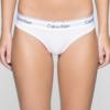 Calvin Klein Nohavičky Tangá Modern Cotton F3786E biele
